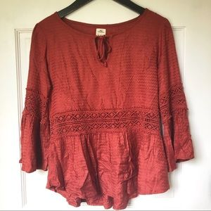 O'Neill Knitted Orange Top